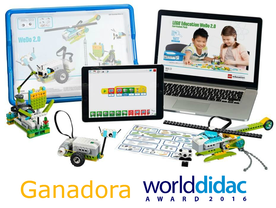 LEGO Education WeDo 2.0 Ganadora Worlddidac Awards 2016