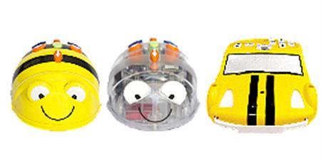 Pack TRI-BOT: Bee-Bot, Blue-Bot y Pro-Bot