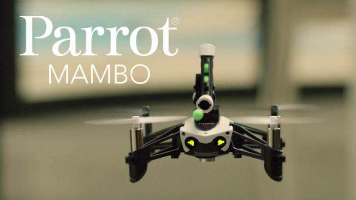Parrot MAMBO equipado con Cannon