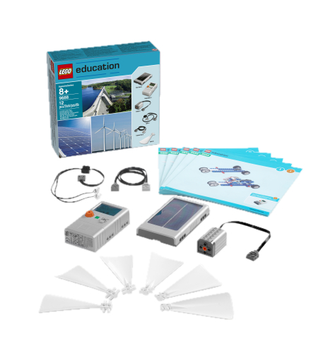 Set de energías renovables compatible con EV3 y Máquinas motorizadas - LEGO Education