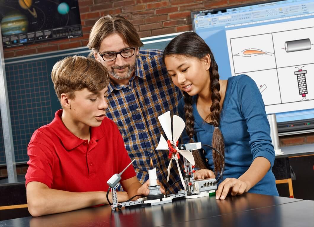Actividades de física y ciencias con LEGO Mindstorms EV3