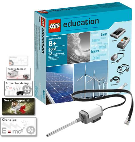 Contenido del Pack Experimentos de física con LEGO Mindstorms EV3