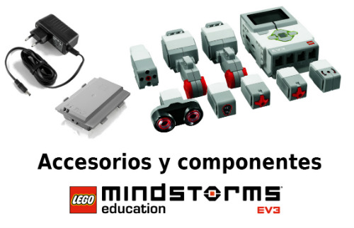 Accesorios y componentes LEGO Mindstorms Education EV3