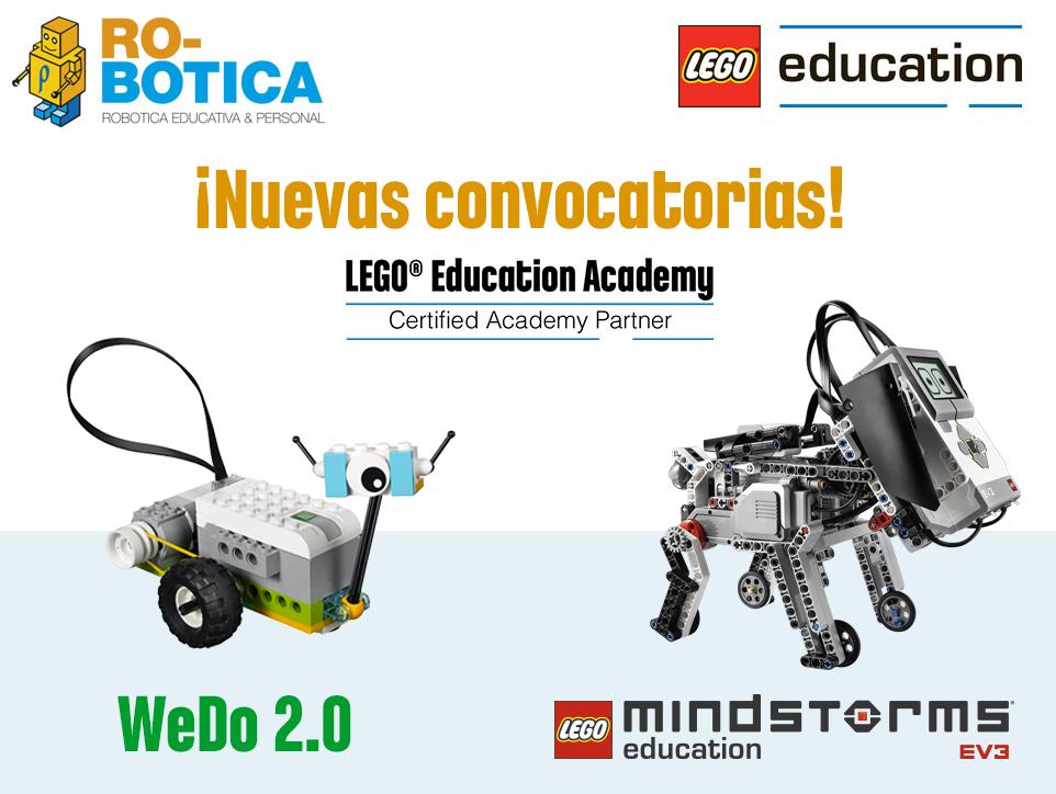 Acceso a los cursos de LEGO Education Academy