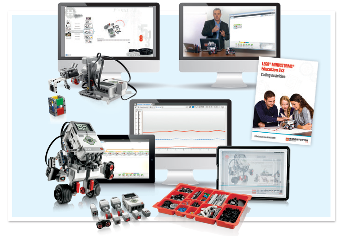 Tienda Robótica Educativa · LEGO MINDSTORMS Education EV3 y NXT