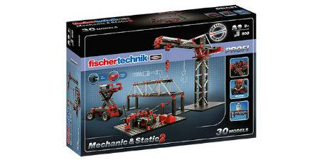 Mechanic + Static 2 Fischertechnic PROFI