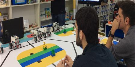 Cuso + prácticas LEGO® MINDSTORMS® EV3 (Julio)