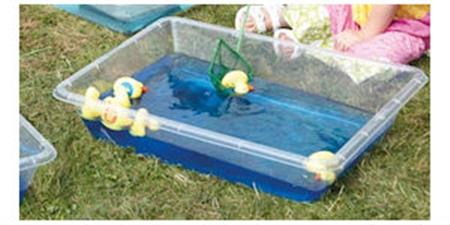 Clear Water Troughs 4pk