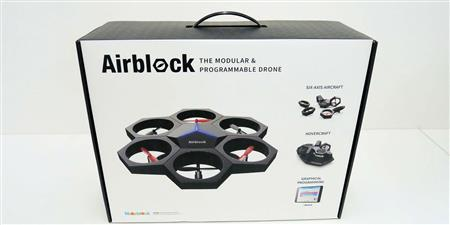 Airblock: Robot educativo 3 en 1