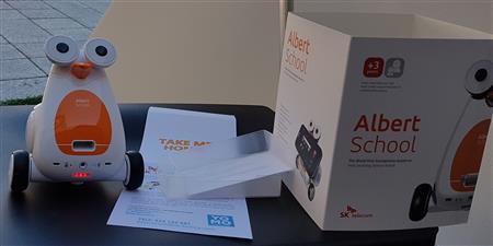 Robot ALBERT BT pack de inicio Coding School