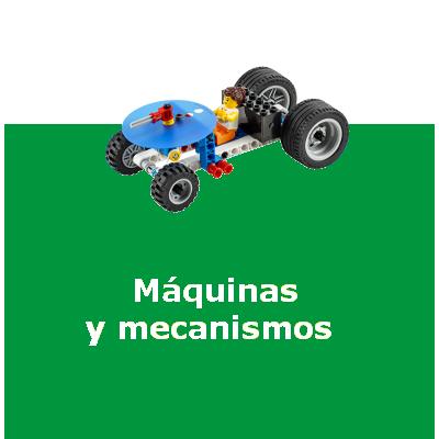LEGO education maquinas y mecanismos