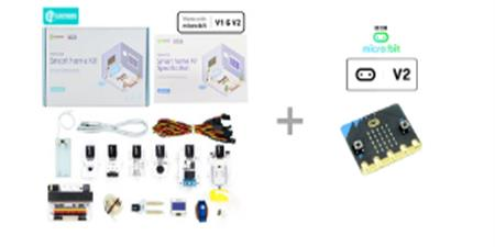 Pack microbit Elecfreaks Smart Home Kit y placa microbit V2