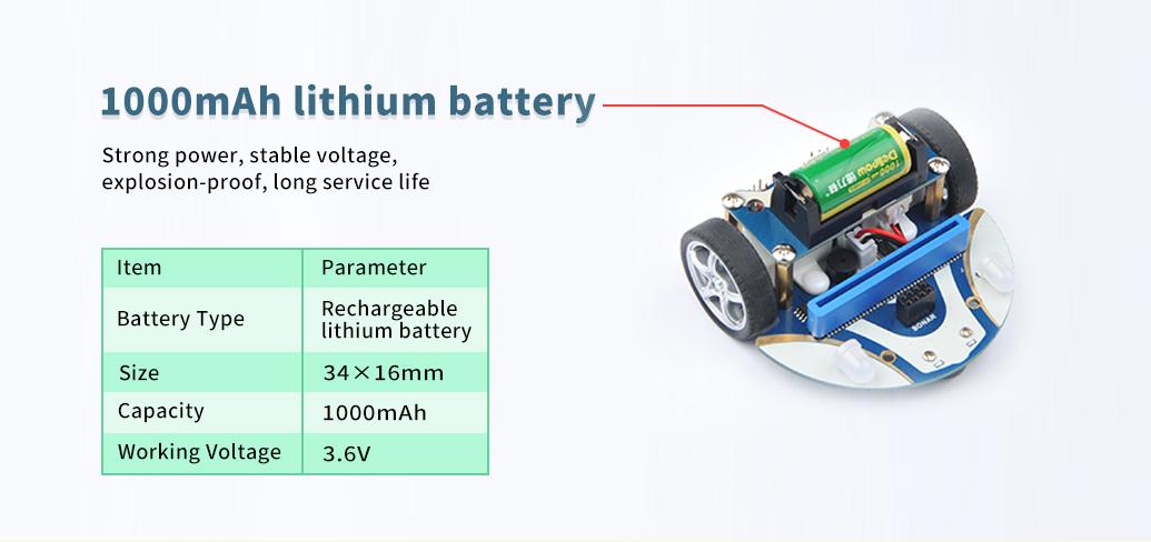 specs bateria