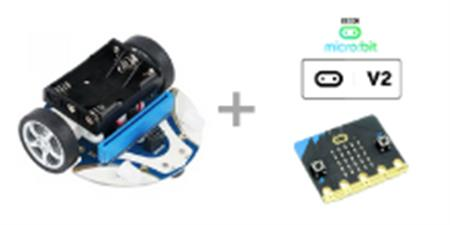 Pack Elecfreaks Smart Car Cutebot y placa microbit V2