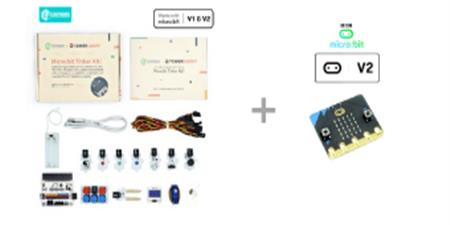 Pack microbit Elecfreaks Tinker Kit y placa microbit V2