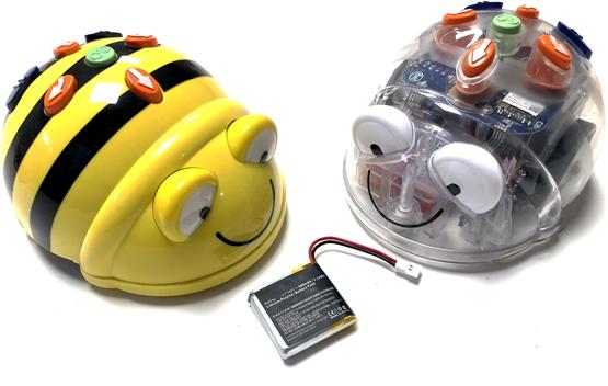 Bateria Bee-Bot Blue-Bot