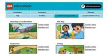 Actividades para Primeras máquinas simples - LEGO® Education Digital