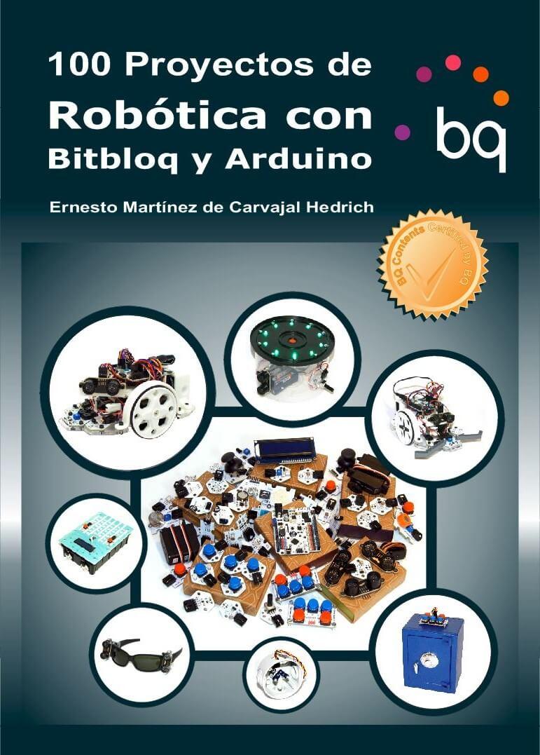 Portada 100 Proyectos de Robótica con Bitbloq y Arduino