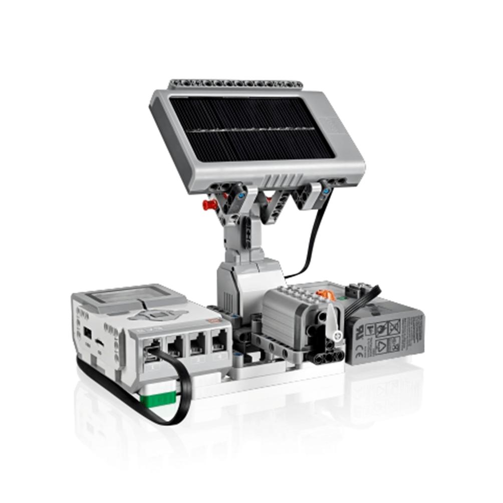LEGO MINDSTORMS Ev3 con medidor de energía solar