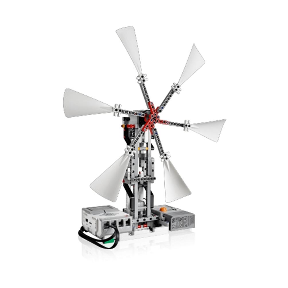 LEGO MINDSTORMS Ev3 con medidor de energía eólica