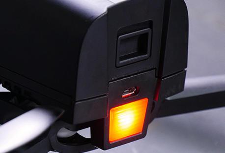 LEDs potentes de Bebop 2 de Parrot