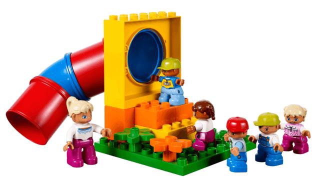 Playground patio de la escuela LEGO DUPLO