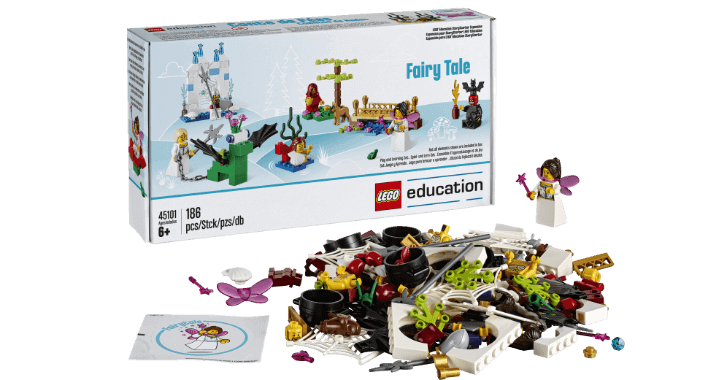 Extensión de Story Starter con cuentos de hadas de LEGO Education