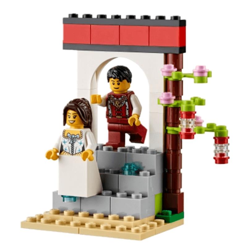 Extensión de Story Starter con cuentos de hadas de LEGO Education príncipe y princesa