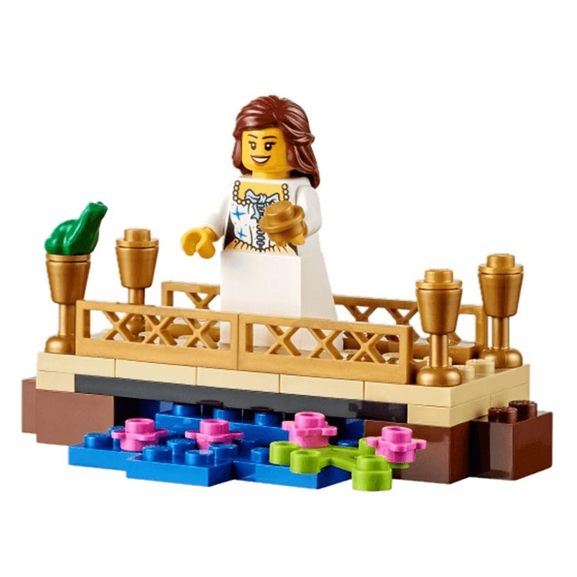 Extensión de Story Starter con cuentos de hadas de LEGO Education princesa en balcón