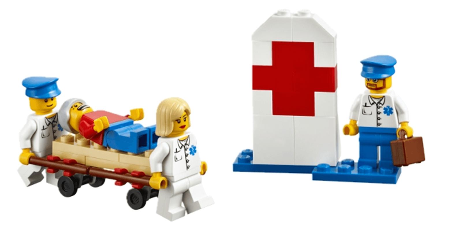 Expansión sobre la comunidad StoryStarter LEGO Education médicos CAP