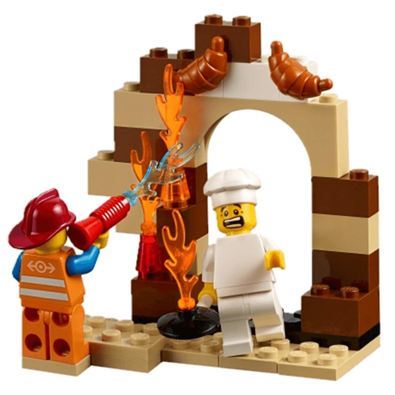 Expansión sobre la comunidad StoryStarter LEGO Education pastelero y bombero