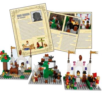 Actividades de la expansión cuento de hadas LEGO Education Story Starter