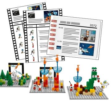 Actividades expansión El Espacio LEGO® Education Story Starter