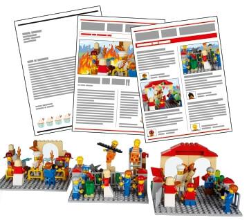 Actividades de expansión de la comunidad para LEGO Education Story Starter