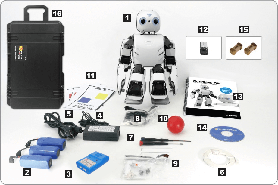 ROBOTIS OP2 contenido
