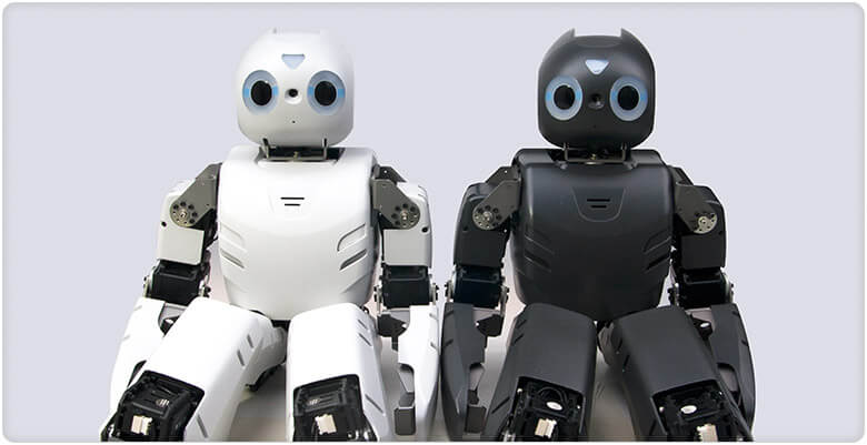 Comparación ROBOTIS OP1 (DARwIn-OP) con ROBOTIS OP2
