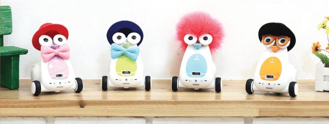 Diferentes robots Albert