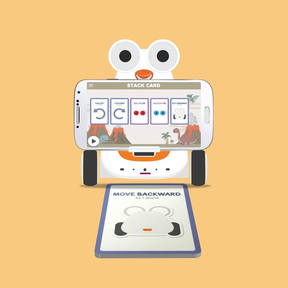 Robot Albert cartas de programación