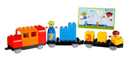 El Tren de las Matemáticas - LEGO® Education Infantil