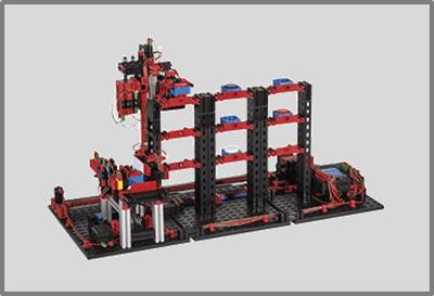 Almacén vertical automatizado con fischertechnik education en RO-BOTICA