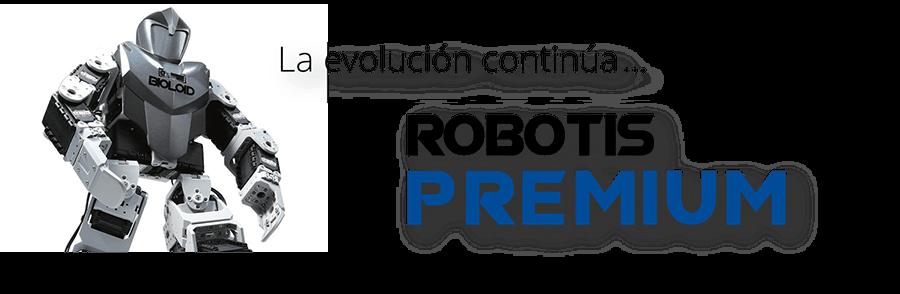 ROBOTIS Bioloid PREMIUM La evolución continúa