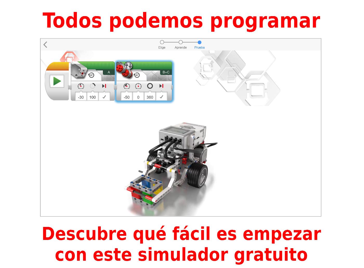 Everyone Can Code. Online Simulation Español