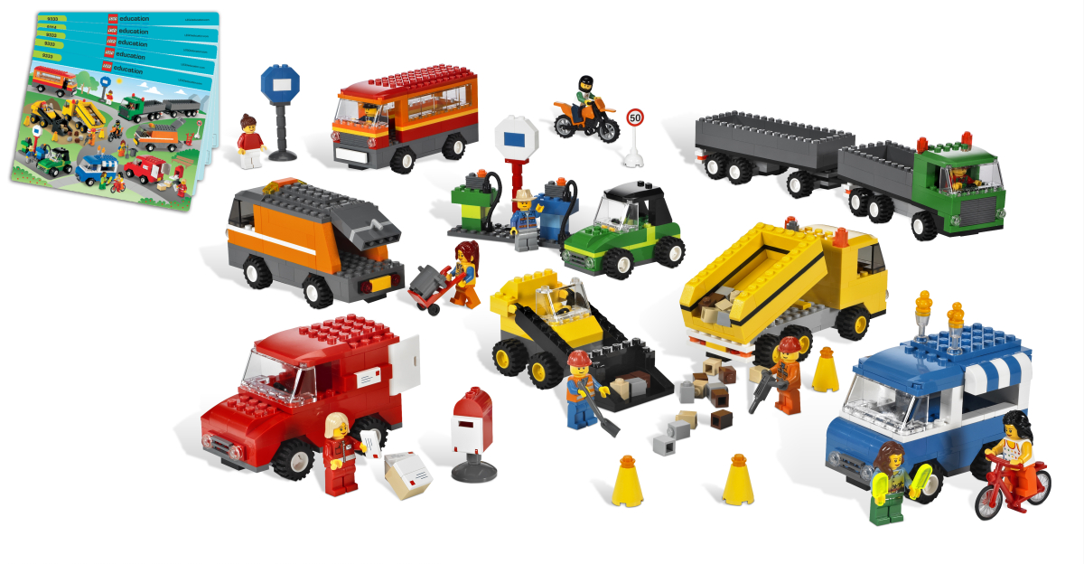 Set de vehículos de LEGO® Education