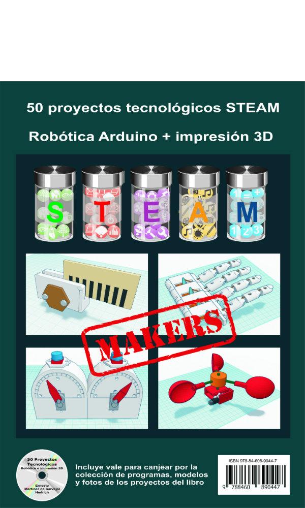 Contraportada 50 Proyectos Tecnológicos