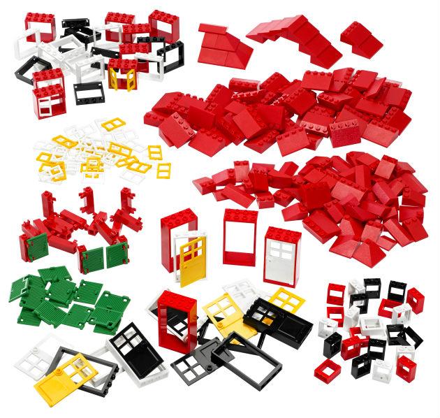 Puertas, ventanas y tejas LEGO® Education