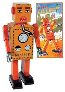 Robot Lilliput Naranja