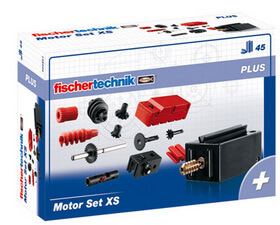 Fishertechnik Plus- Conjunto de motor XS y piezas
