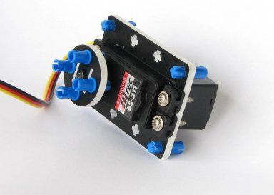 Kit de adaptación de servos RC
