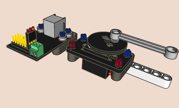 Kit de montaje con miniservos RC (4 unidades)