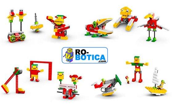 Set básico de construcción LEGO Education WeDo